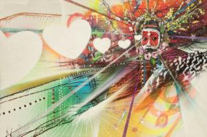 LOVE DANCE 2014 48X72 SPRAY PAINT ON CANVAS 300x198 - A Cure For Addiction? - DrG talks with Elizabeth Bast and Chor Boogie